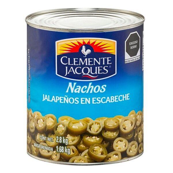 Acheter Chiles Jalapeños en Rodajas de la marque Clemente Jacques 2800g