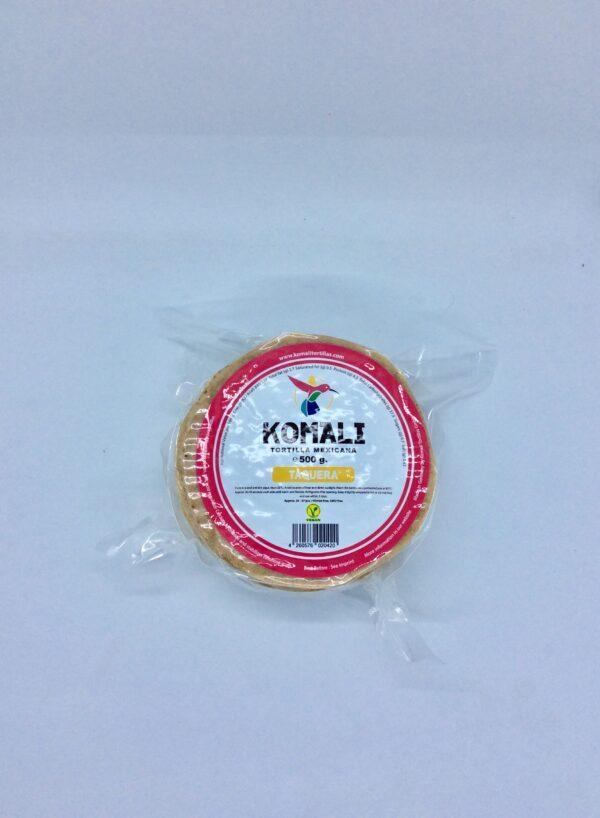 Komali - Tortillas de maïs (maiz) - Dimension - 12 cm - 500 gr
