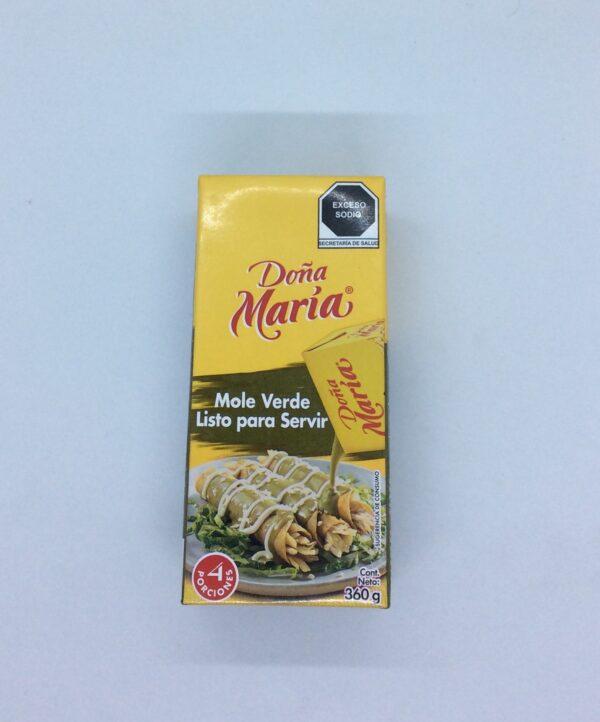 """Sauce mole verde prête à servir - 360 Gr - Dona maria"""