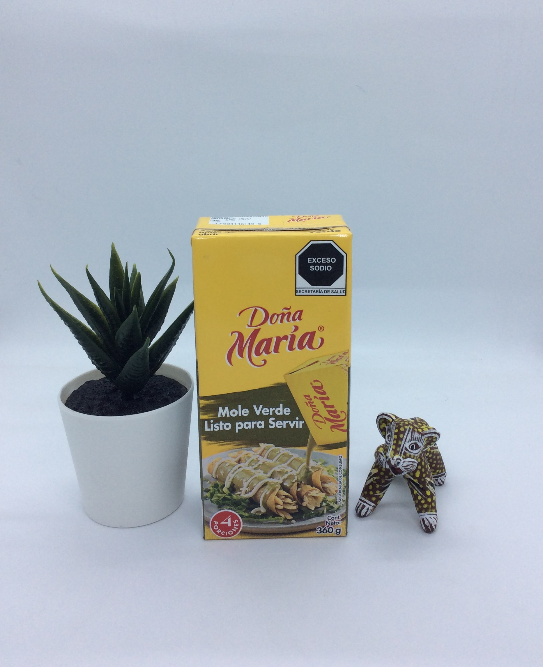 Sauce mole verde prête à servir - 360 Gr - Dona maria